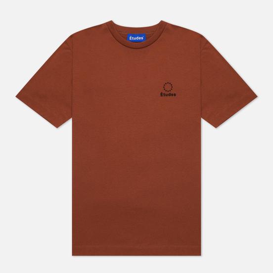 Мужская футболка Etudes Wonder Logo Brown