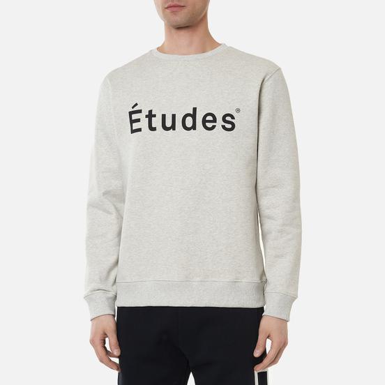 Мужская толстовка Etudes Essentials Story Etudes Heather Grey