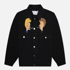 Мужская джинсовая куртка Etudes x Beavis & Butt-Head Vertige Black
