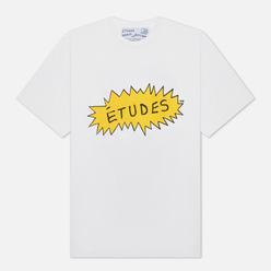 Мужская футболка Etudes x Beavis & Butt-Head Wonder Etudes Angry White