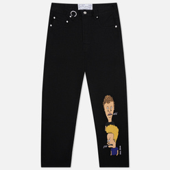 Мужские джинсы Etudes x Beavis & Butt-Head Corner Black