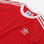 Мужской лонгслив adidas Originals 3-Stripes Scarlet фото - 1