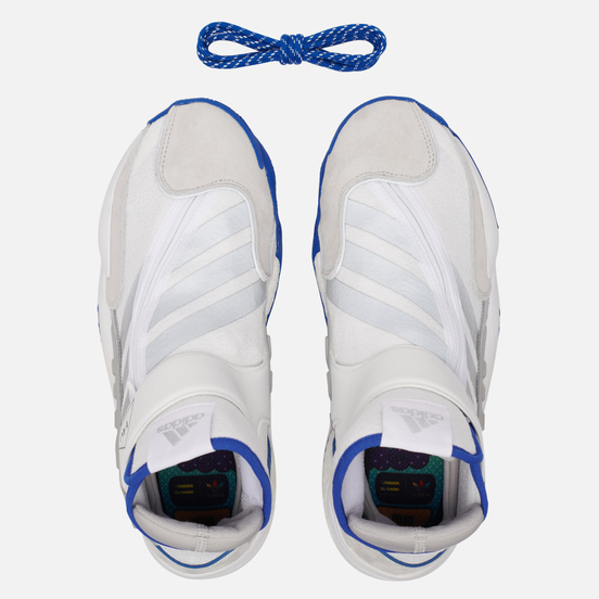 Мужские кроссовки adidas Originals x Pharrell Williams 0 TO 60 BOS White/Collegiate Royal/Silver Metallic