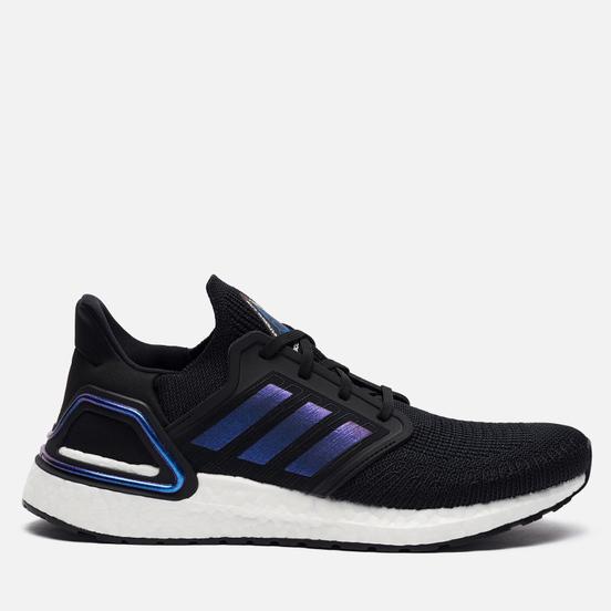 Мужские кроссовки adidas Performance Ultra Boost 20 Core Black/Blue Violet Metallic/Cloud White
