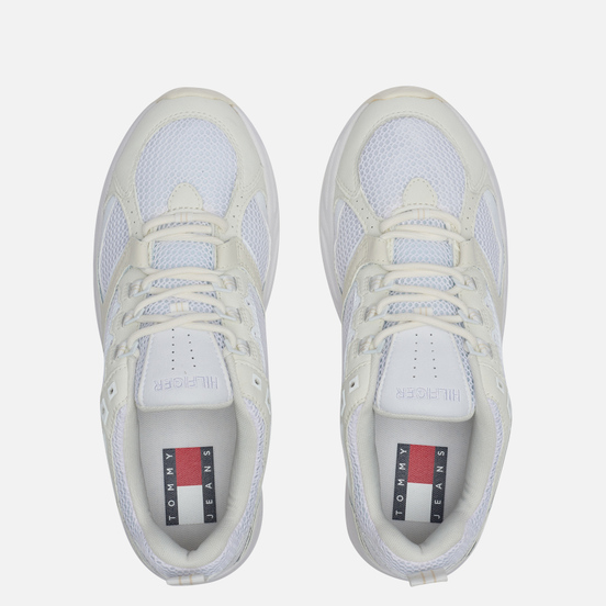 Мужские кроссовки Tommy Jeans Archive Mesh Trainers Ivory