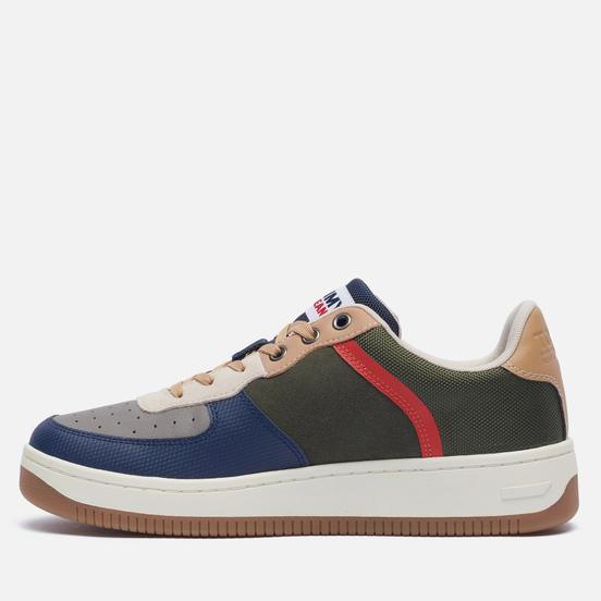 Мужские кроссовки Tommy Jeans Basket Cupsole Fashion Dark Olive
