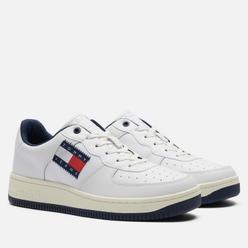 Мужские кроссовки Tommy Jeans Basket Cupsole Logo White