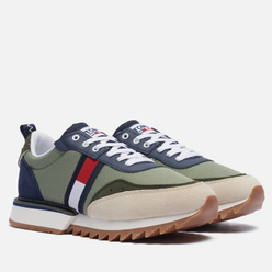 Мужские кроссовки Tommy Jeans ABO Cleated Clean Green
