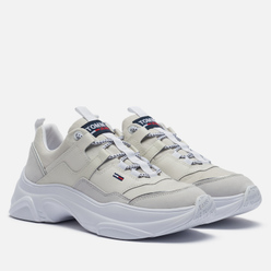 Женские кроссовки Tommy Jeans Lightweight Colour Pop Trainers White