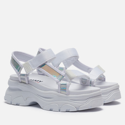 Женские сандалии Tommy Jeans Iridescent Hybrid White