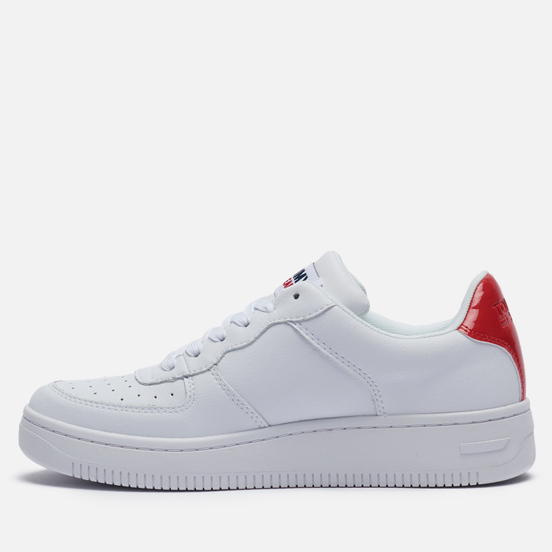 Женские кроссовки Tommy Jeans Suede Panel Trainers White