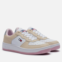 Женские кроссовки Tommy Jeans Suede Panel Trainers Sugarcane
