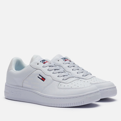 Женские кроссовки Tommy Jeans Reflective Low-Top Trainers White