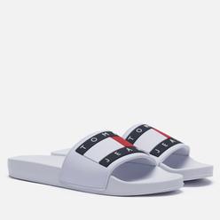 Женские сланцы Tommy Jeans Essential Logo Pool Slide White