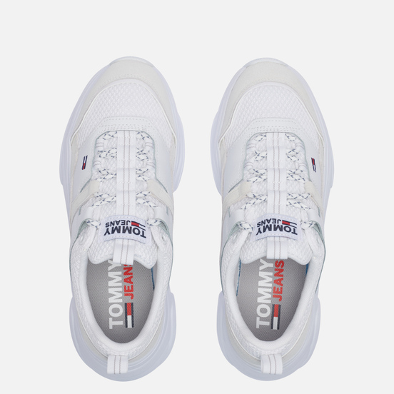 Женские кроссовки Tommy Jeans Lightweight Hybrid Trainers White
