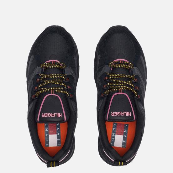Женские кроссовки Tommy Jeans Archive Textile Mix Runner Black