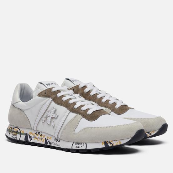 Мужские кроссовки Premiata Eric 5174 White/Grey