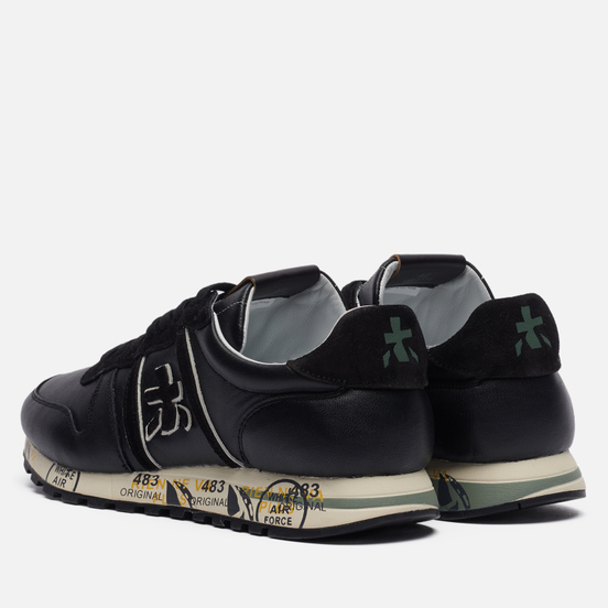 Мужские кроссовки Premiata Eric 5370 Black