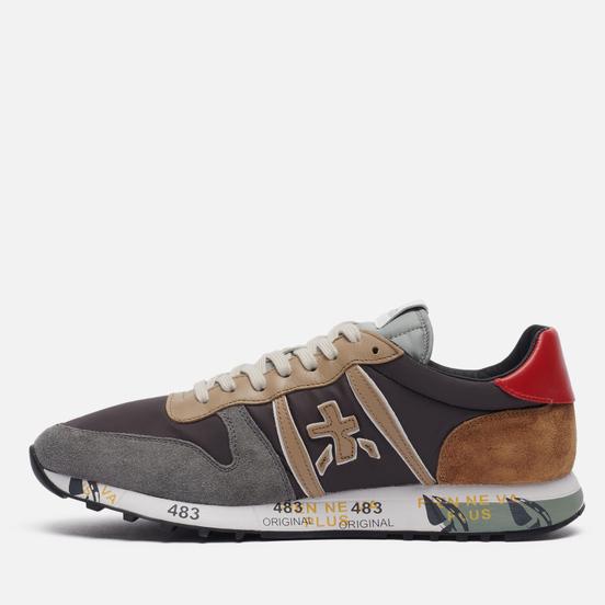 Мужские кроссовки Premiata Eric 5371 Grey/Brown