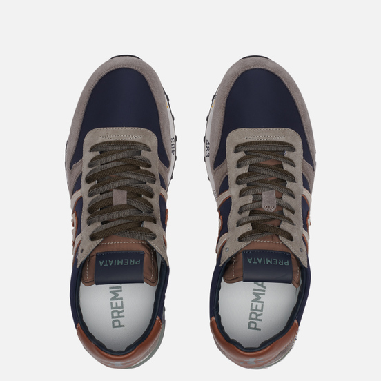 Мужские кроссовки Premiata Eric 5377 Black/Grey