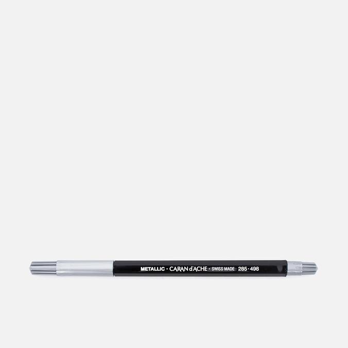 Caran d'Ache Fancolor Metallic Felt-tip Pen Silver