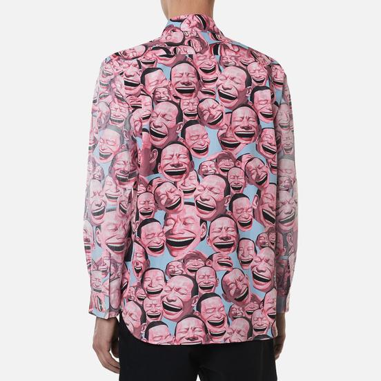 Мужская рубашка Comme des Garcons SHIRT x Yue Minjun All Over Print Print A