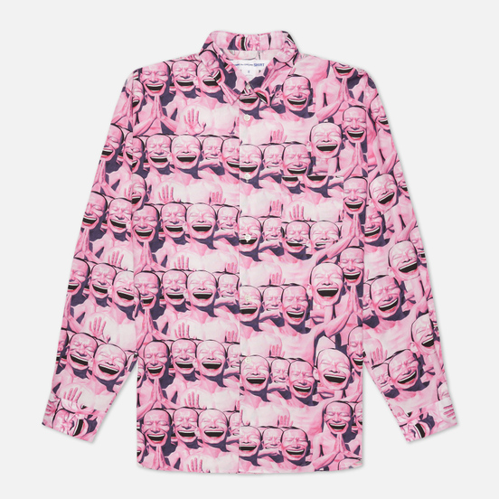 Мужская рубашка Comme des Garcons SHIRT x Yue Minjun All Over Print Print B