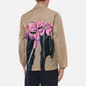 Мужская куртка Comme des Garcons SHIRT x Yue Minjun Print D Coach Beige фото - 4