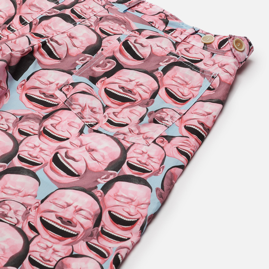 Мужские брюки Comme des Garcons SHIRT x Yue Minjun All Over Print Print A