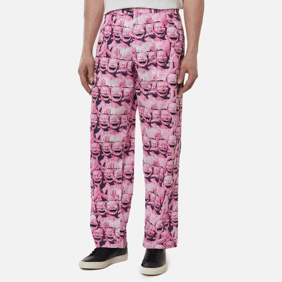 Мужские брюки Comme des Garcons SHIRT x Yue Minjun All Over Print Print B