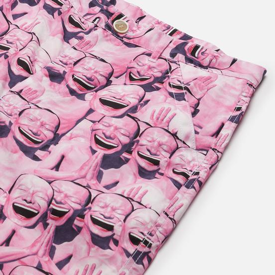 Мужские шорты Comme des Garcons SHIRT x Yue Minjun All Over Print Print B