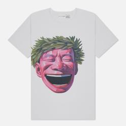 Мужская футболка Comme des Garcons SHIRT x Yue Minjun Print C White