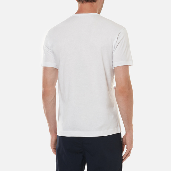 Мужская футболка Comme des Garcons SHIRT x Yue Minjun Print D White