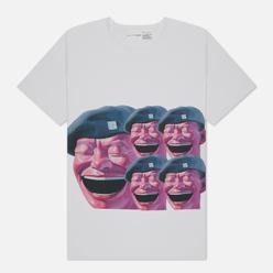 Мужская футболка Comme des Garcons SHIRT x Yue Minjun Print E White