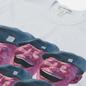 Мужская футболка Comme des Garcons SHIRT x Yue Minjun Print E White фото - 1