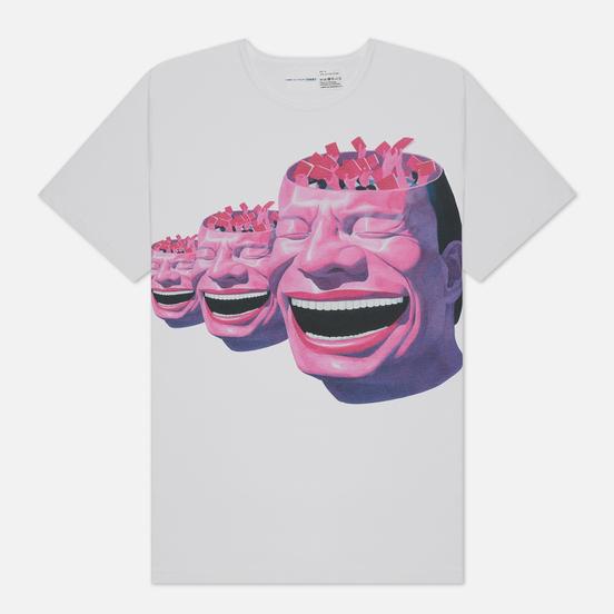Мужская футболка Comme des Garcons SHIRT x Yue Minjun Print F White
