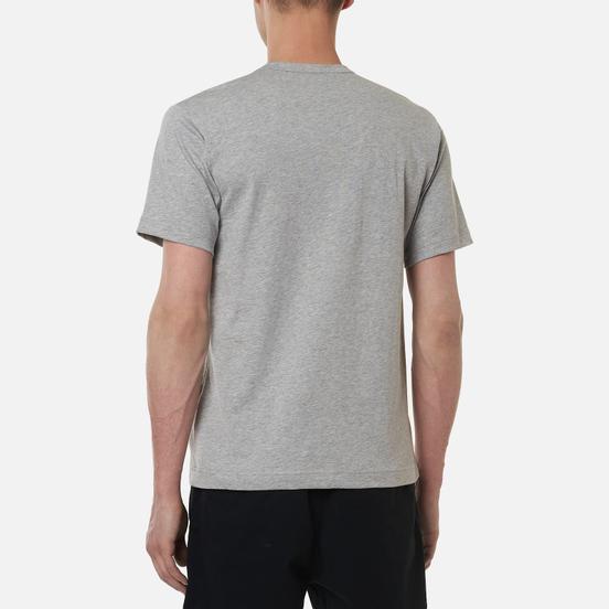 Мужская футболка Comme des Garcons SHIRT Exaggerated Pocket Grey
