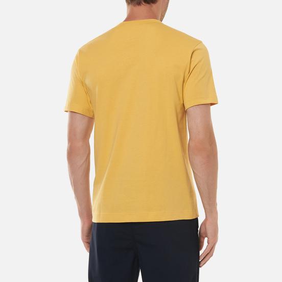 Мужская футболка Comme des Garcons SHIRT Exaggerated Pocket Yellow