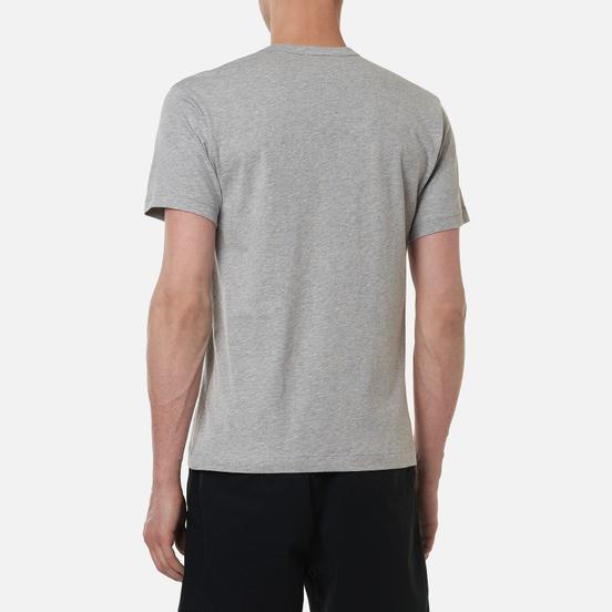Мужская футболка Comme des Garcons SHIRT Front Logo Grey