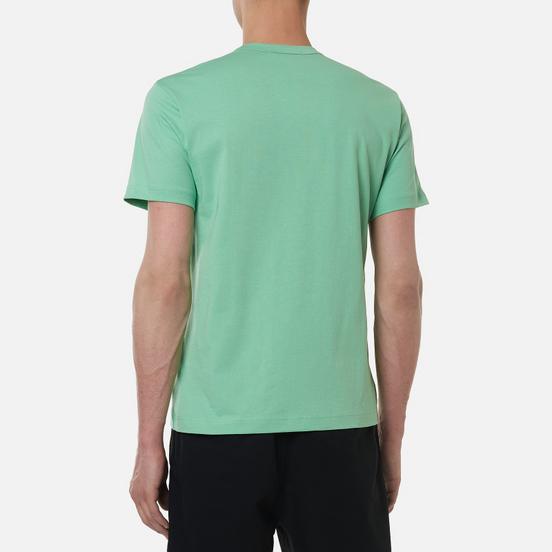 Мужская футболка Comme des Garcons SHIRT Front Logo Green