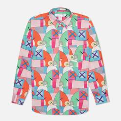 Мужская рубашка Comme des Garcons SHIRT x KAWS Print H Multicolor