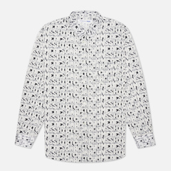 Мужская рубашка Comme des Garcons SHIRT x KAWS Print E White/Black