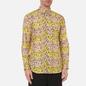 Мужская рубашка Comme des Garcons SHIRT x KAWS Print F Yellow/Peach фото - 2