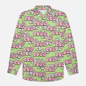Мужская рубашка Comme des Garcons SHIRT x KAWS Print G Green/Pink фото - 0