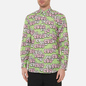 Мужская рубашка Comme des Garcons SHIRT x KAWS Print G Green/Pink фото - 2