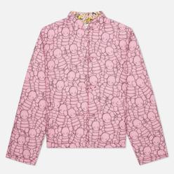 Мужская куртка Comme des Garcons SHIRT x KAWS Print B/F Pink/Yellow