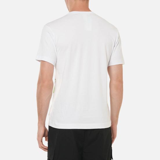 Мужская футболка Comme des Garcons SHIRT x KAWS Print 4 White