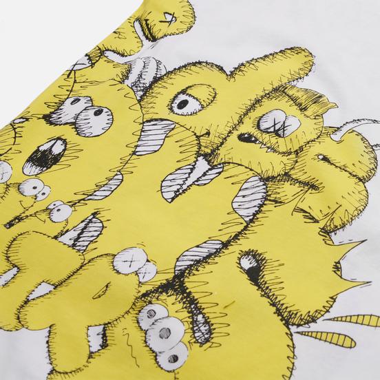 Мужская футболка Comme des Garcons SHIRT x KAWS Print 5 White