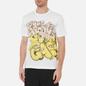 Мужская футболка Comme des Garcons SHIRT x KAWS Print 5 White фото - 3