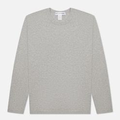 Мужской лонгслив Comme des Garcons SHIRT Back Logo Grey